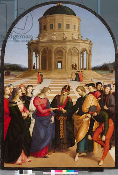 Marriage of the Virgin, 1504 (oil on panel)