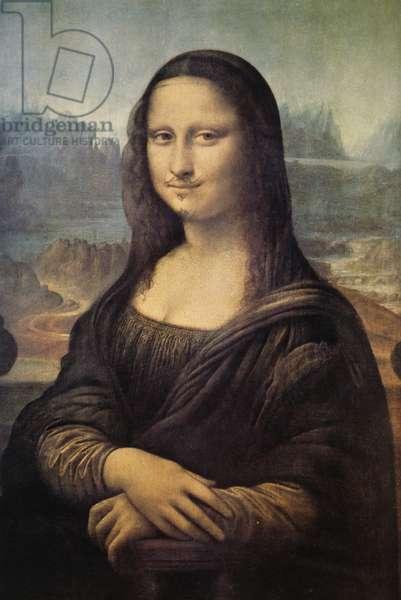 Mona Lisa, LHOOQ, by Marcel Duchamp (1887-1968). France, 20th century.