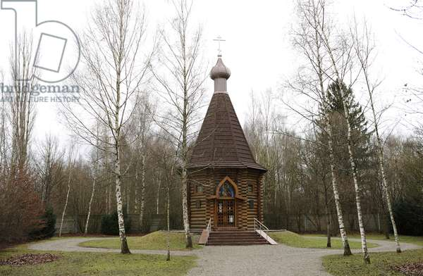 Dachau Concentration Camp. Russian Orthodox Church. Germany.