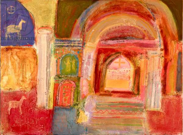 A Sacred Place, 2006 (oil on canvas)