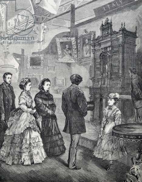 Visit of Queen Victoria, 1870 (engraving)