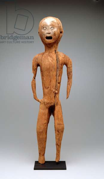 Funerary figure (tau-tau), 19th century or earlier (wood)