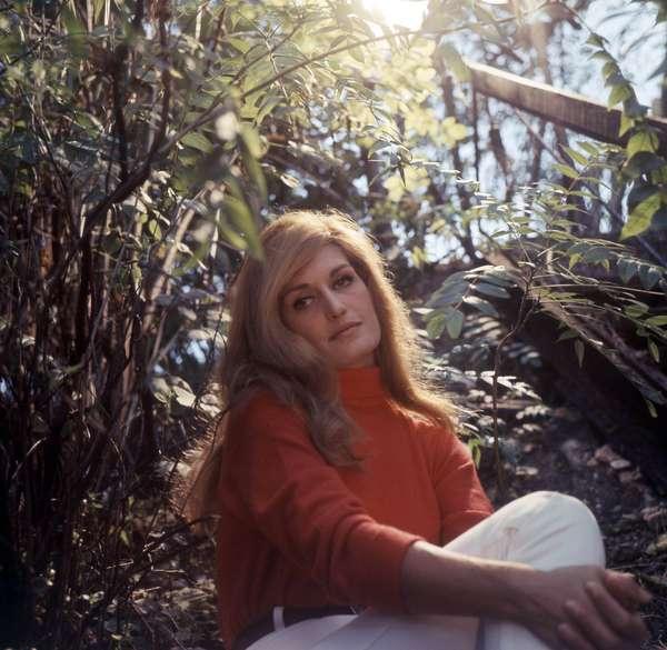 Singer Dalida, c. 1970 (photo)