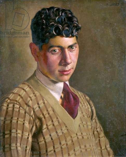 Mervyn Levy, 1931 (oil on board)