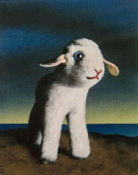Lamb, 2009, (oil on canvas)