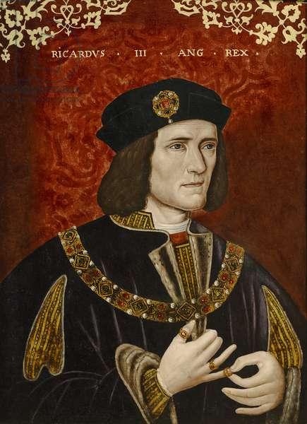Richard III (oil on panel)