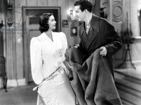 THE DOCTOR TAKES A WIFE, from left, Loretta Young, Ray Milland, 1940