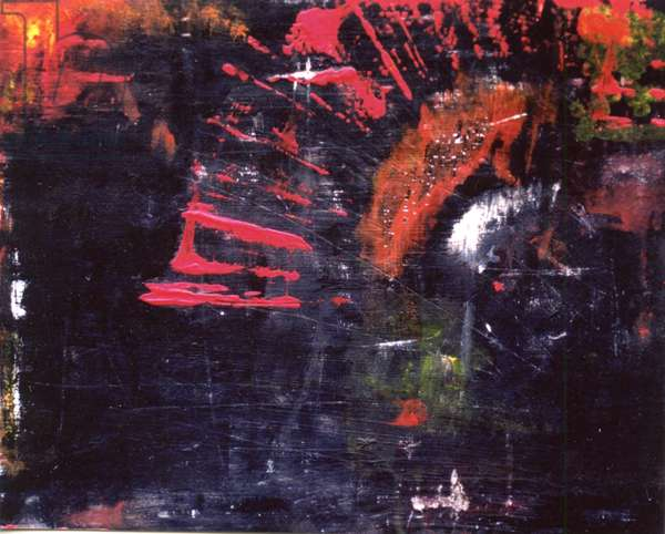 Tunnel Vision, 2000, (oil and acrylic on board)