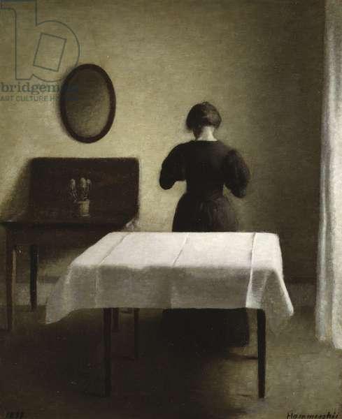 Interior, 1898 (oil on canvas)