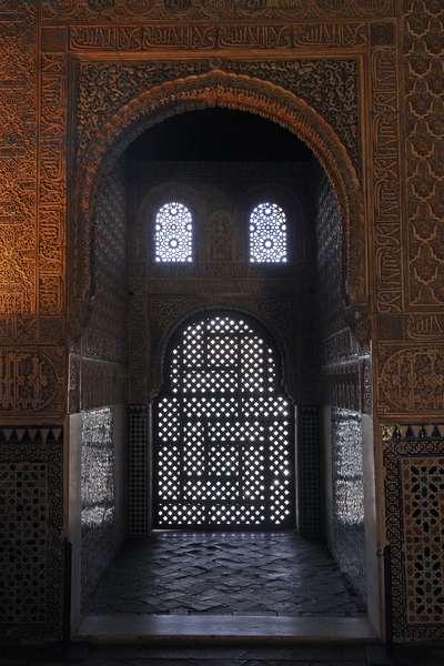 Alhambra Granada, Nasrid Palaces, Salón de los Embajadores, 2010 (photo)
