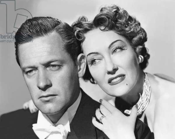 William Holden And Gloria Swanson