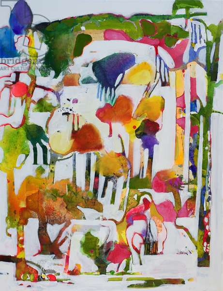 Arboretum (oil on canvas)