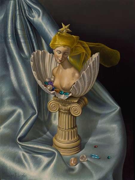 Venus, 2007 (oil on canvas on panel)