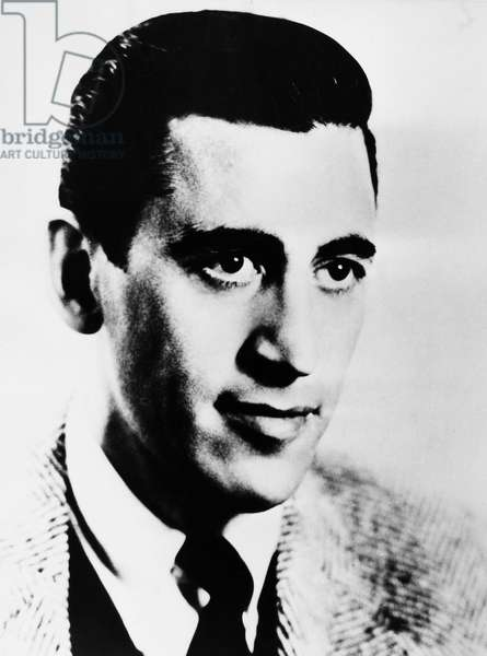 J.D. SALINGER (1919-2010) American author. Photographed in 1951.