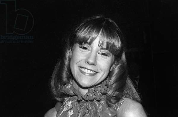 French TV presenter Dorothee at the 4th Cesar Awards ceremony in Paris, on February 5, 1979