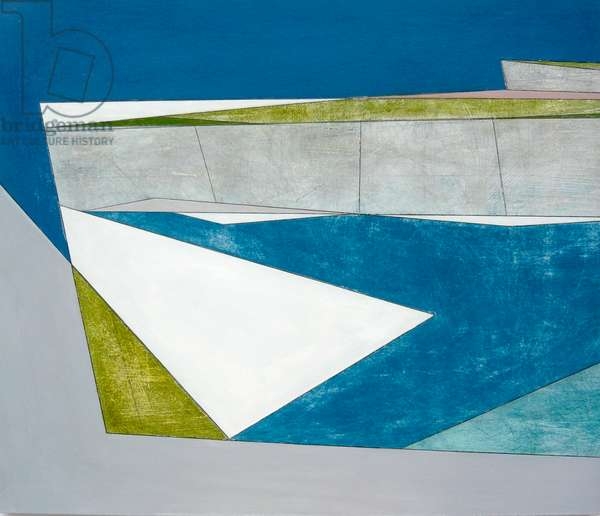 Planar Coast 2, 2008 (acrylic on board)