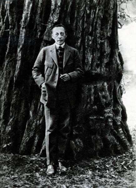 Sergei Rachmaninoff in California