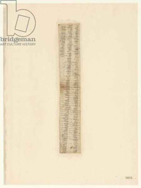 Codex Atlanticus, sheet 1025 recto