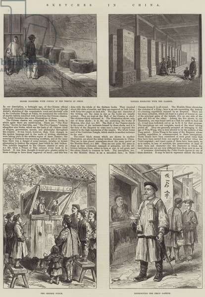 Sketches in China (engraving)