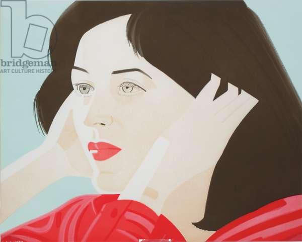 Joan (Walker 44), 1986 (colour aquatint)
