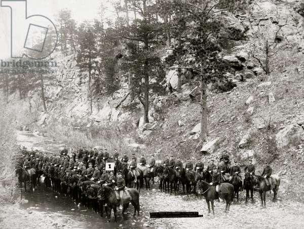 Indian Chiefs, Officials (b/w photo)