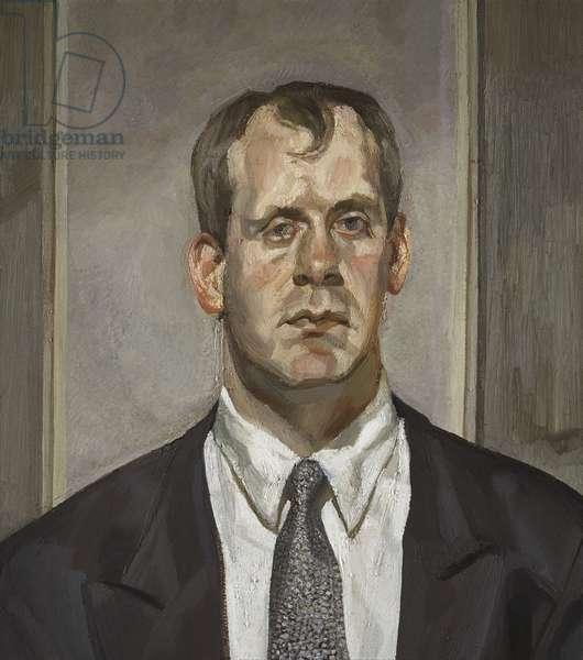 Head of an Irishman, 1999 (oil on canvas)