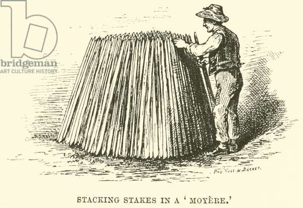 Stacking Stakes in a 'Moyere' (engraving)