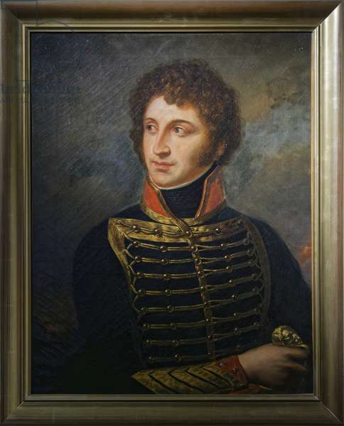 General Jean Francois Joseph Debelle, 1837 (oil on canvas)