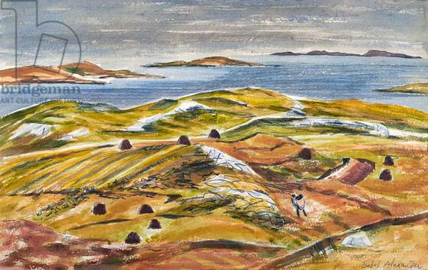 Isle of Scalpay, c.1971 (w/c on paper)