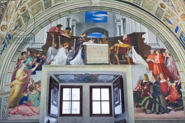The Mass at Bolsena, room of Heliodorus, 1512 (fresco)
