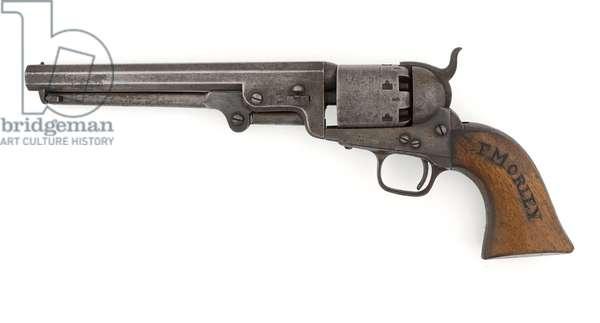 Colt .36 inch percussion revolver, Navy model, c.1856 (revolver, percussion, .36 in, Colt, Navy)
