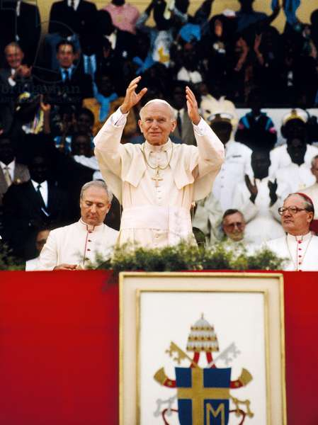 Pope John Paul II, Dakar, Senegal