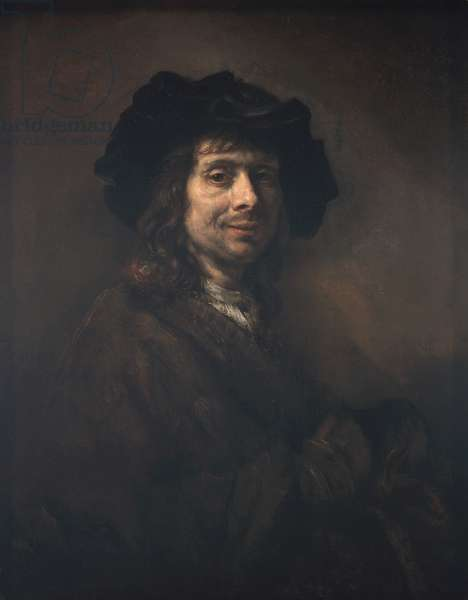 Portrait of a Young Man (perhaps an artist) 1661-62 (oil on canvas)