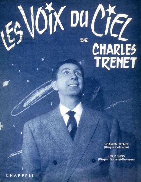 The voices of the sky of Charles Trenet 1961