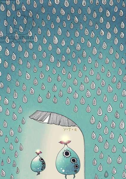 April Shower, 2012 (mix media)