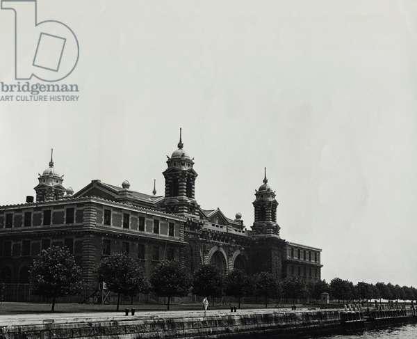 Administration Building Ellis Island New York City USA