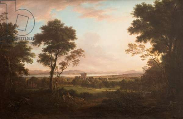 Castle Huntly, c.1800 (oil on canvas)