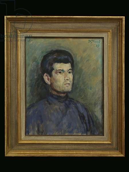 Mattei Radev, c.1960 (oil on canvas)