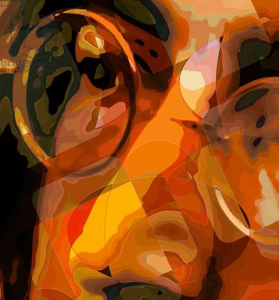 John Lennon eye, 2012 (digital)