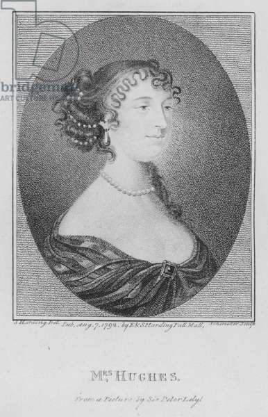 Mrs Hughes (engraving)