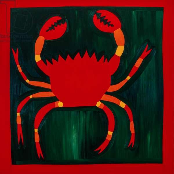 Crab,1998,(oil on linen)