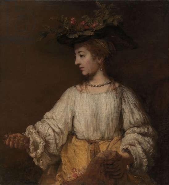 Flora, c.1654 (oil on canvas)
