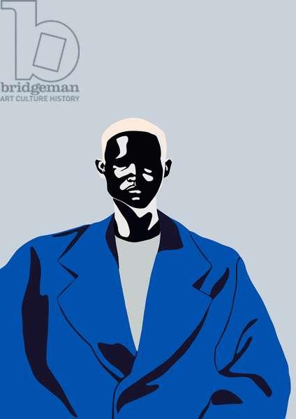 Blue Coat, 2016, (digital)