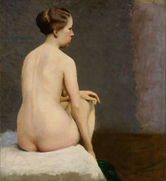 Seated Nude, 1916-18 (oil on canvas)