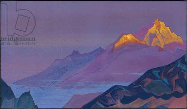 Path to Shambhala, 1933 (tempera on canvas)