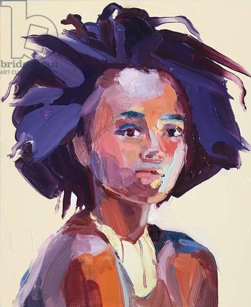 'Eye Am', 2017, (oil on canvas0