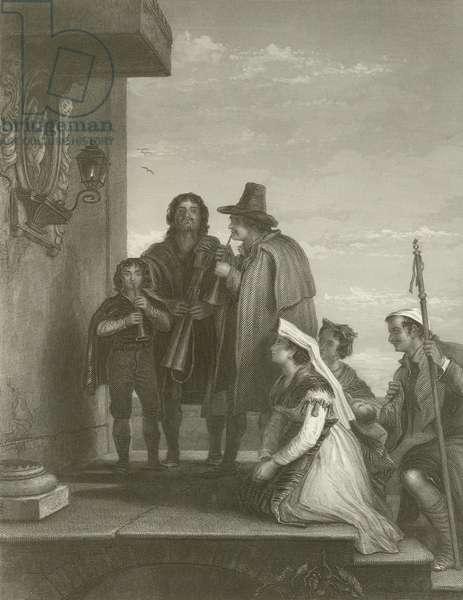 The Pifferari (engraving)