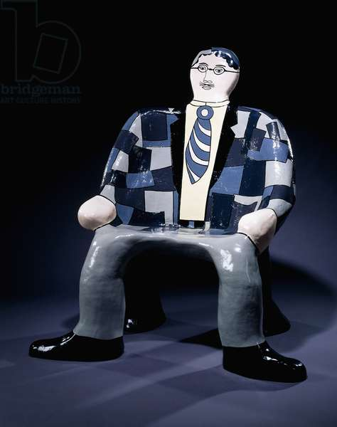 Charley Chair Man; Charley Chaise Homme, 1981-1982 (painted polyester)