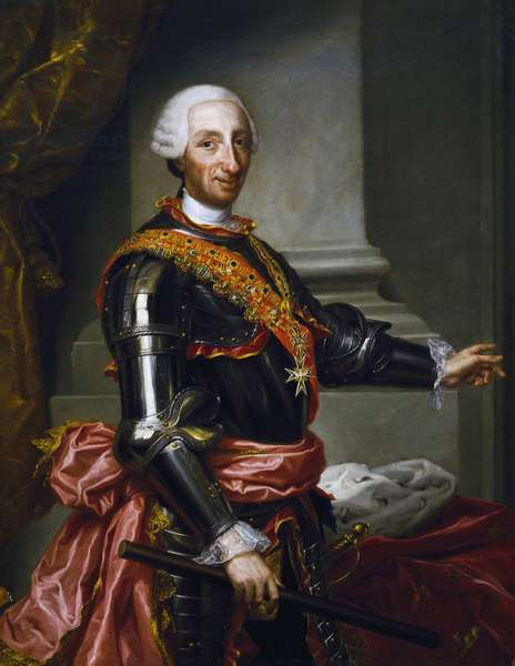 Portrait of Charles III of Bourbon (oil on canvas)