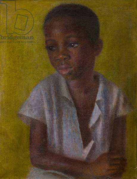 Gabriel in St Lucia, c.1950s (oil on canvas)
